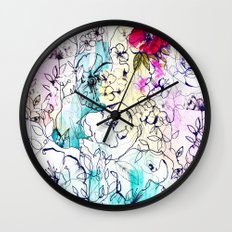 Spring Haze Wall Clock