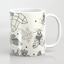 Moths and rocks. Coffee Mug
