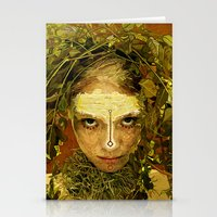 pagan Stationery Cards featuring Pagan by Charlie Terrell