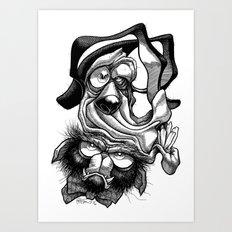 Chump & Grump Art Print