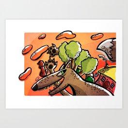 -Little Red Riding Hood-  Art Print