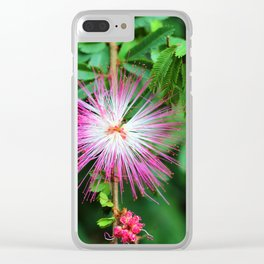 Flower photography by Uthpala Shyamendra Clear iPhone Case