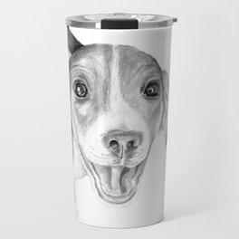 A Story To Tell :: A Beagle Puppy Travel Mug