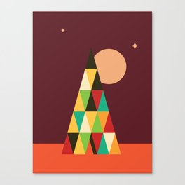 Patterned 7B Canvas Print