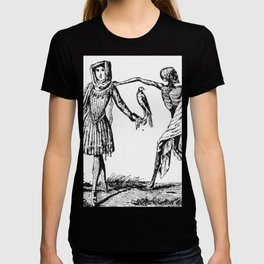 """""""We Dance With Death"""" Plague Art T-shirt"""