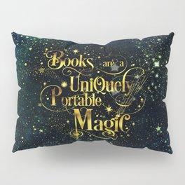 Books Are a Uniquely Portable Magic Pillow Sham