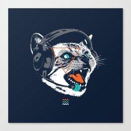 Stereocat Canvas Print