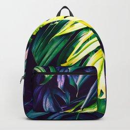 Purple paradisiacal jungle Backpack