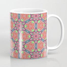 Origami Flowers, surface pattern Coffee Mug