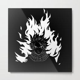 Natsu Dragneel Metal Print