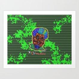 The Clown Father Art Print