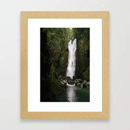 Adventure Falls Framed Art Print