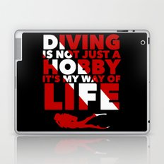 Scuba diving is my way of life Laptop & iPad Skin