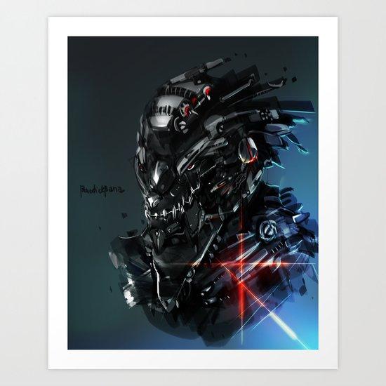 Graywolf Prototype Art Print