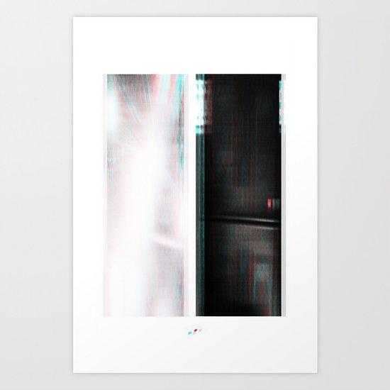 Lights & Speakers (Party Monster) Art Print