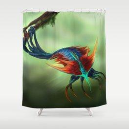 Trilobite Squid Shower Curtain