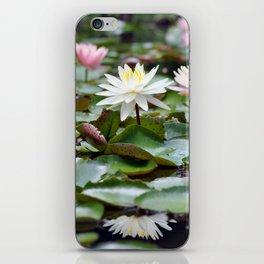 Water Lilies in Texas iPhone Skin