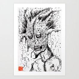 K.C.'s Demon Art Print