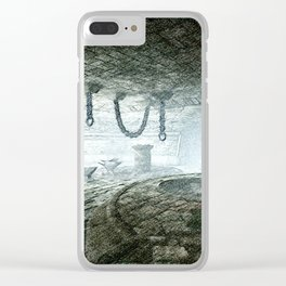 torture room Clear iPhone Case