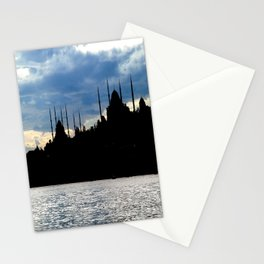 Sultanahmet Camii Skyline Istanbul Turkey Stationery Cards