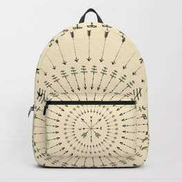 Arrow Compass Backpack