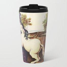 The Darkside of the Unicorn Travel Mug