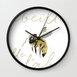 l'abeille  Wall Clock