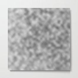 Silver Foil Metal Print