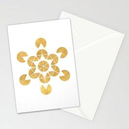 STAR TETRAHEDRON MERKABA sacred geometry Stationery Cards