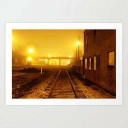 Railroads Art Print
