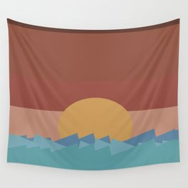 SUNSET 2 Wall Tapestry