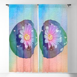 Payote psychedelic plants Blackout Curtain