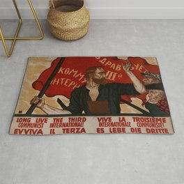 URSS - Soviet Union Poster Rug
