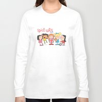spice girls Long Sleeve T-shirts featuring Spice Girls Kids by The Drawbridge