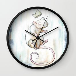 and the Prince. Wall Clock