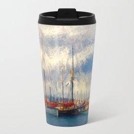 Waiting to sail Travel Mug