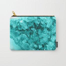 Aqua Ice Amethyst Carry-All Pouch