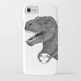 Dino Love iPhone Case