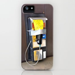 Where have all the pay phones gone? #2 iPhone Case