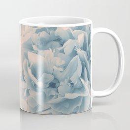 Blush Blue Peonies Dream #1 #floral #decor #art #society6 Coffee Mug