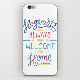 Hogwarts iPhone Skin