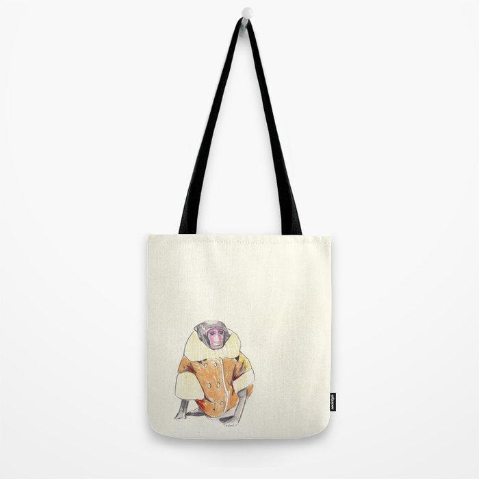 The Stylish Monkey Tote Bag