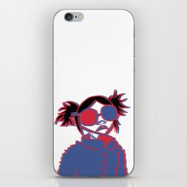 3d noodle iPhone Skin