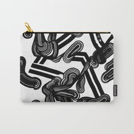 Flowing the velvet Carry-All Pouch