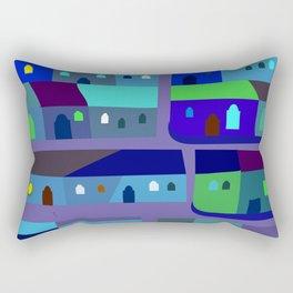 Tepito de Azul Rectangular Pillow
