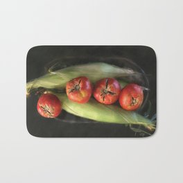 Farm Produce Bath Mat