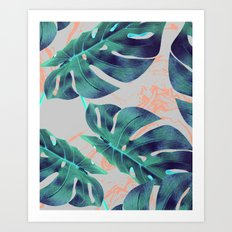 Be Tropical #society6 #decor #buyart Art Print
