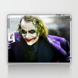 The Joker (TDK) Digital Painting  Laptop & iPad Skin