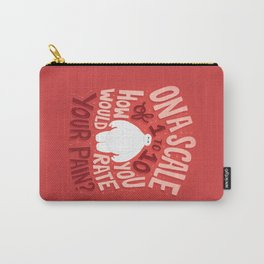 Rate your pain Carry-All Pouch