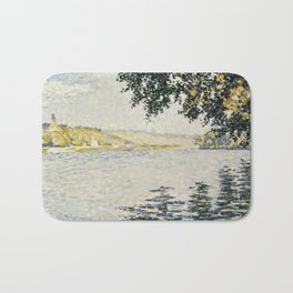 View of the Seine at Herblay Bath Mat